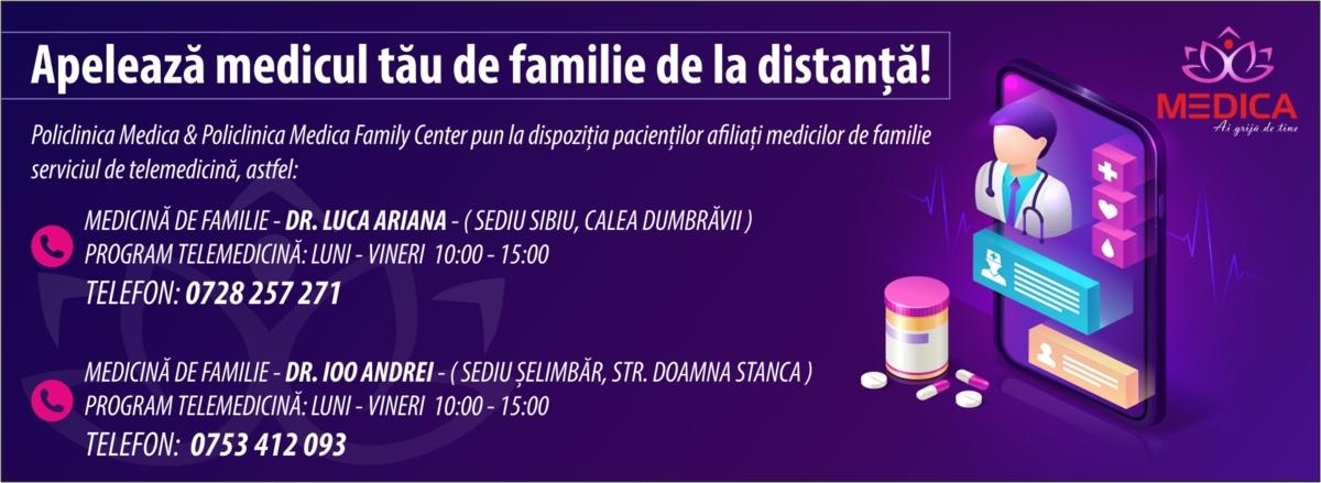 Telemedicina - medic de familie